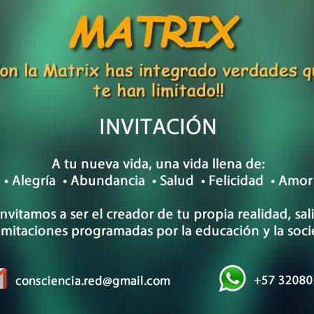 TU SALIDA DE LA MATRIX